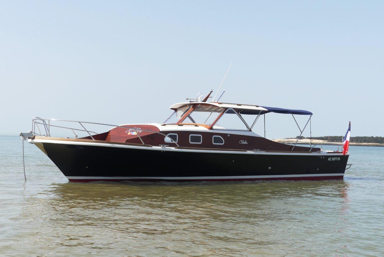 privatisation et balade en bateau arcachon